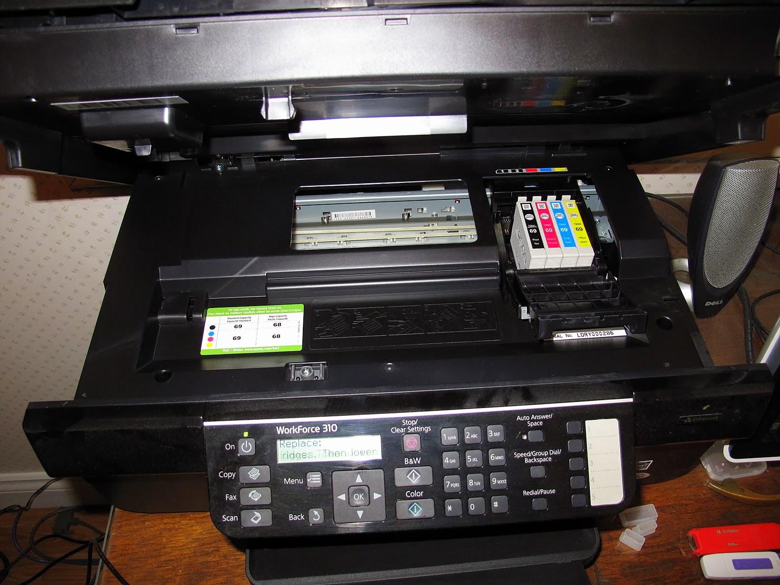manual de la impresora epson l200