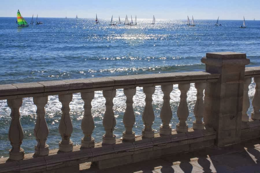 Promenade of Sitges