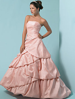 Farrah Furtado Couture Pink Wedding Dresses Becoming a Trend