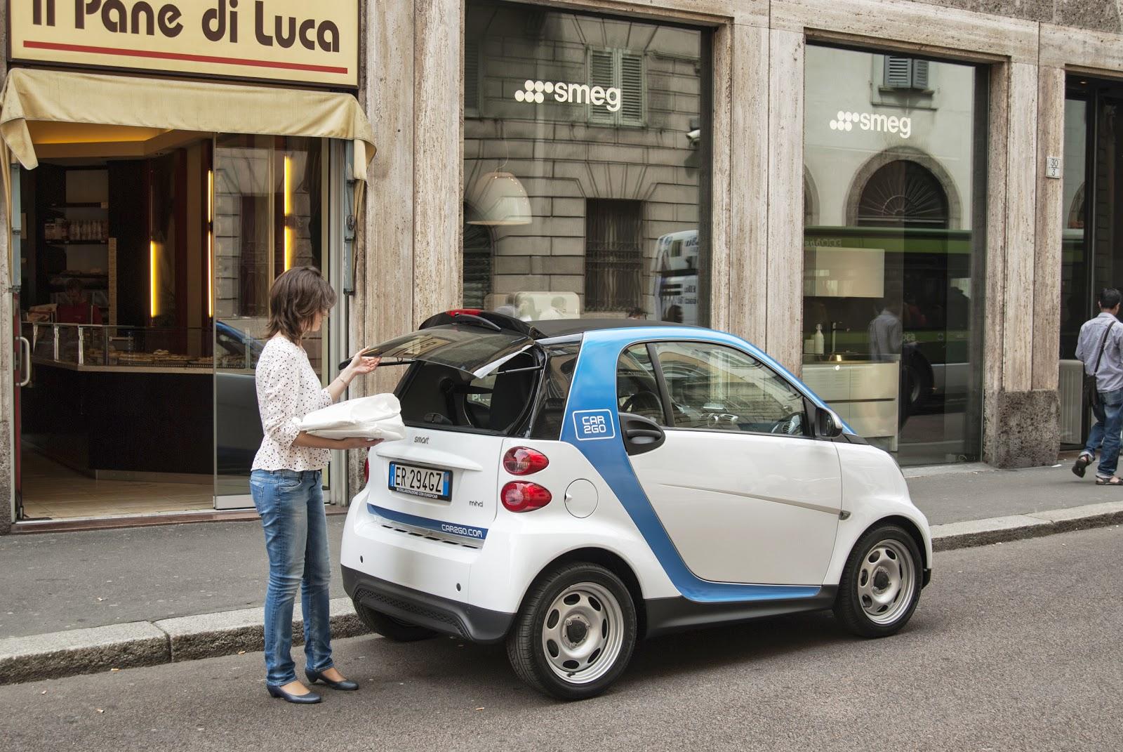car2go how to start car
