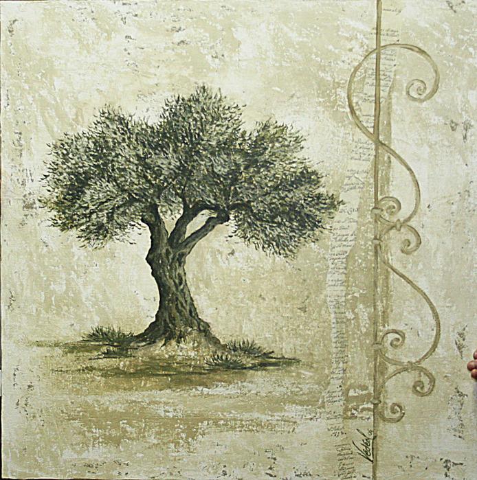 Картинки с деревьями для декупажа