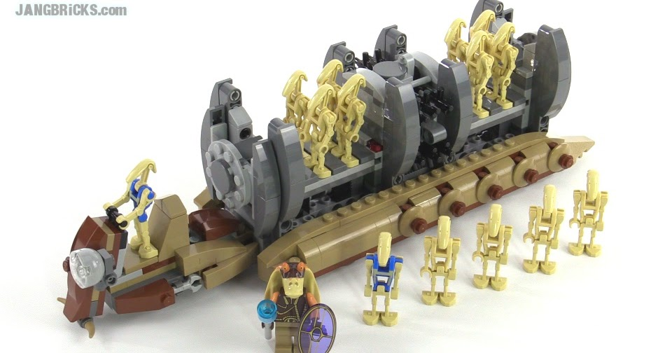 Lego star wars battle droid troop carrier review set 75086 - Lego star wars vaisseau droide ...