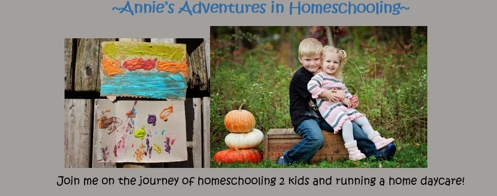 Annie's Adventures In Homeschooling!