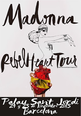Rebel Heart Tour Poster 1 by MPAP