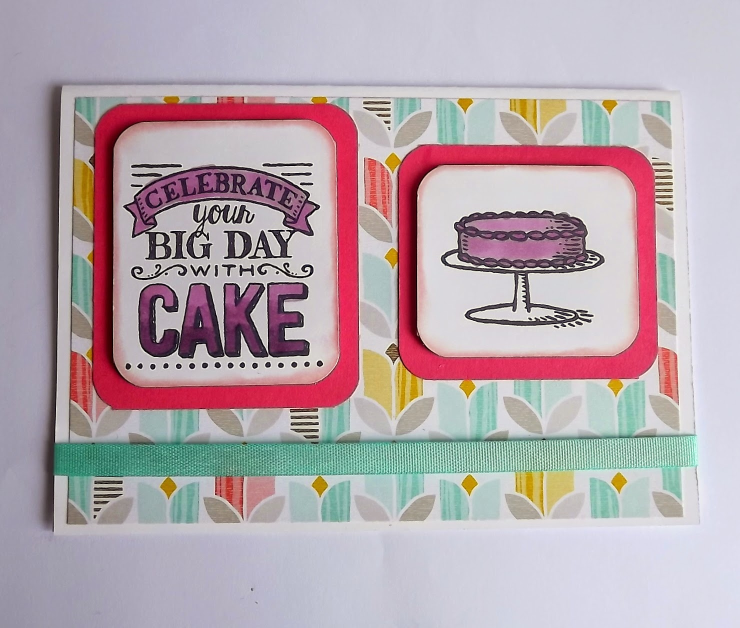 Big Day stamp, Stampin Up!