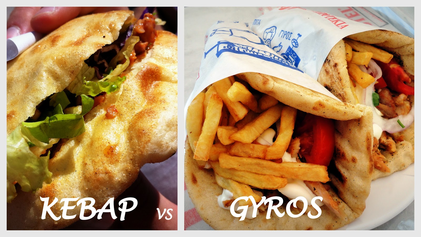 gyros vs kebab