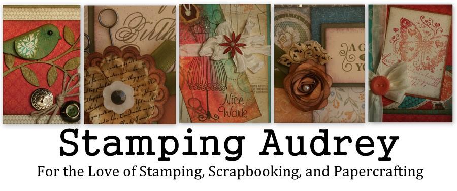 Stamping Audrey