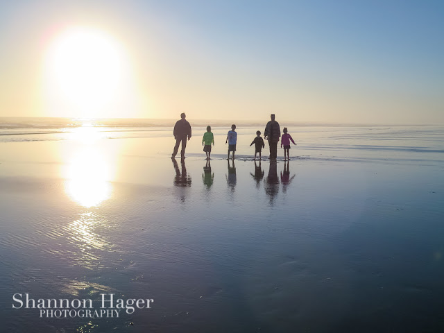 Shannon Hager Photography, Beach Sunset, Family Portrait