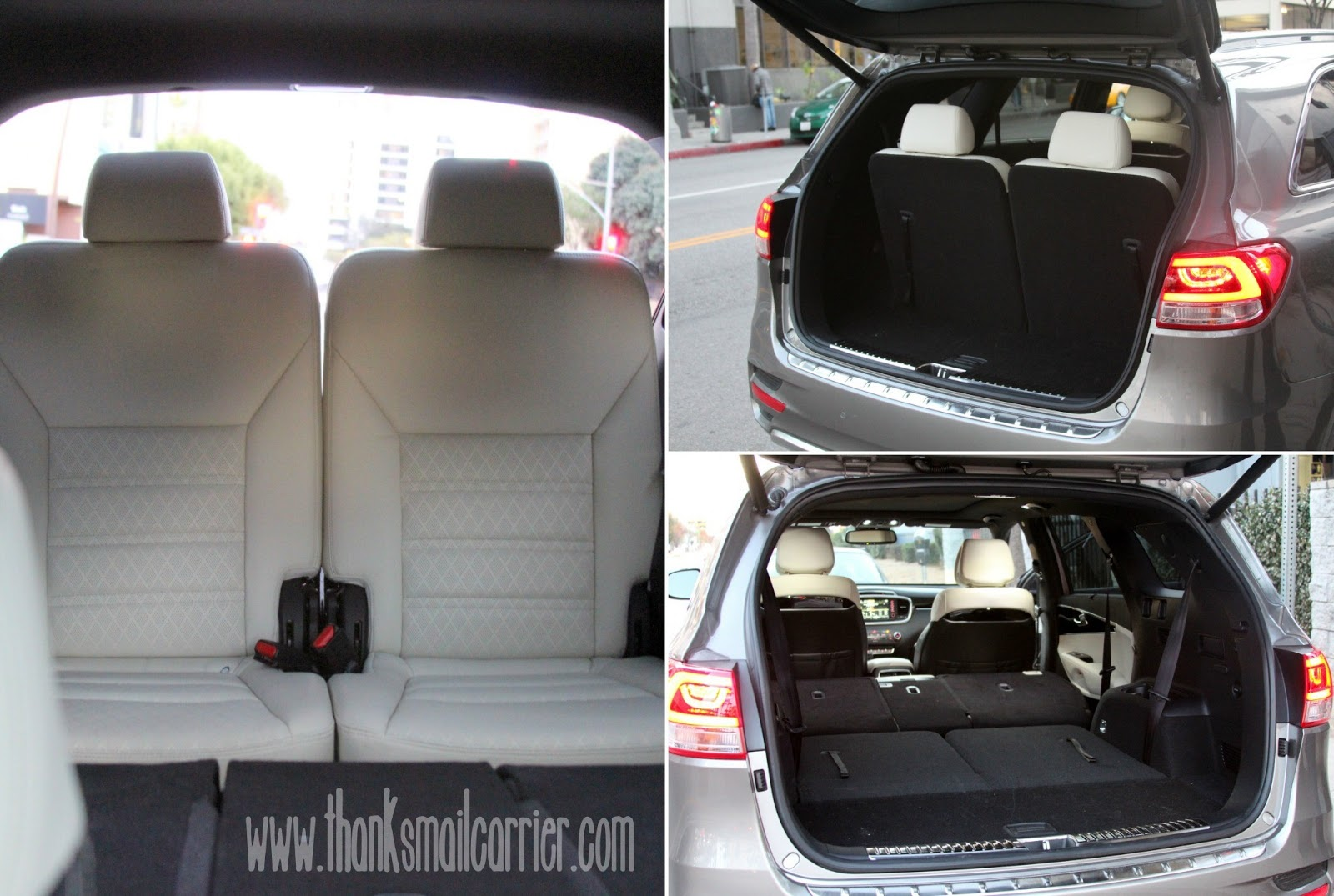 Kia Sorento third row