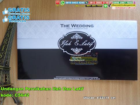 Undangan Pernikahan Ifah Dan Latif