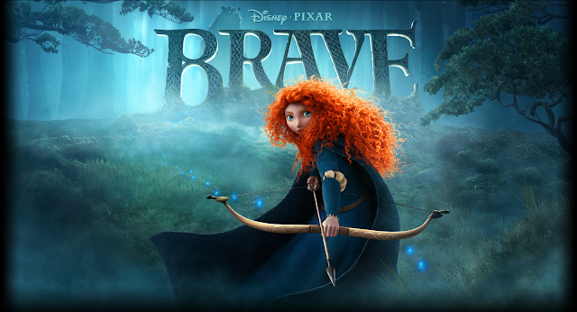 Brave movie poster by Pixar