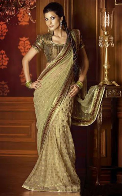 Indian Designer Sarees Design 2012