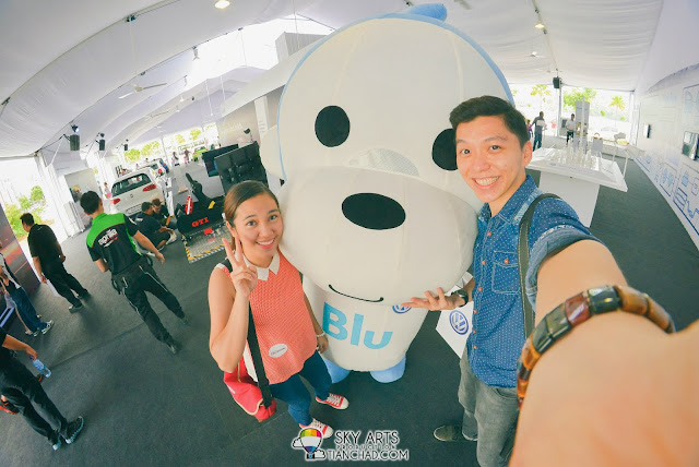 Cute Blu @ 'Volkswagen On Tour' Queensbay Mall, Penang #VolkswagenOnTour