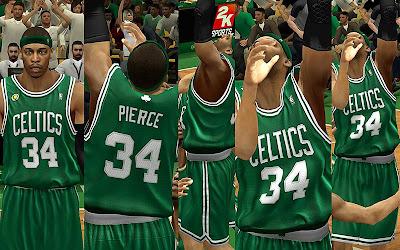 NBA 2K13 Boston Celtics Away Jersey Patch
