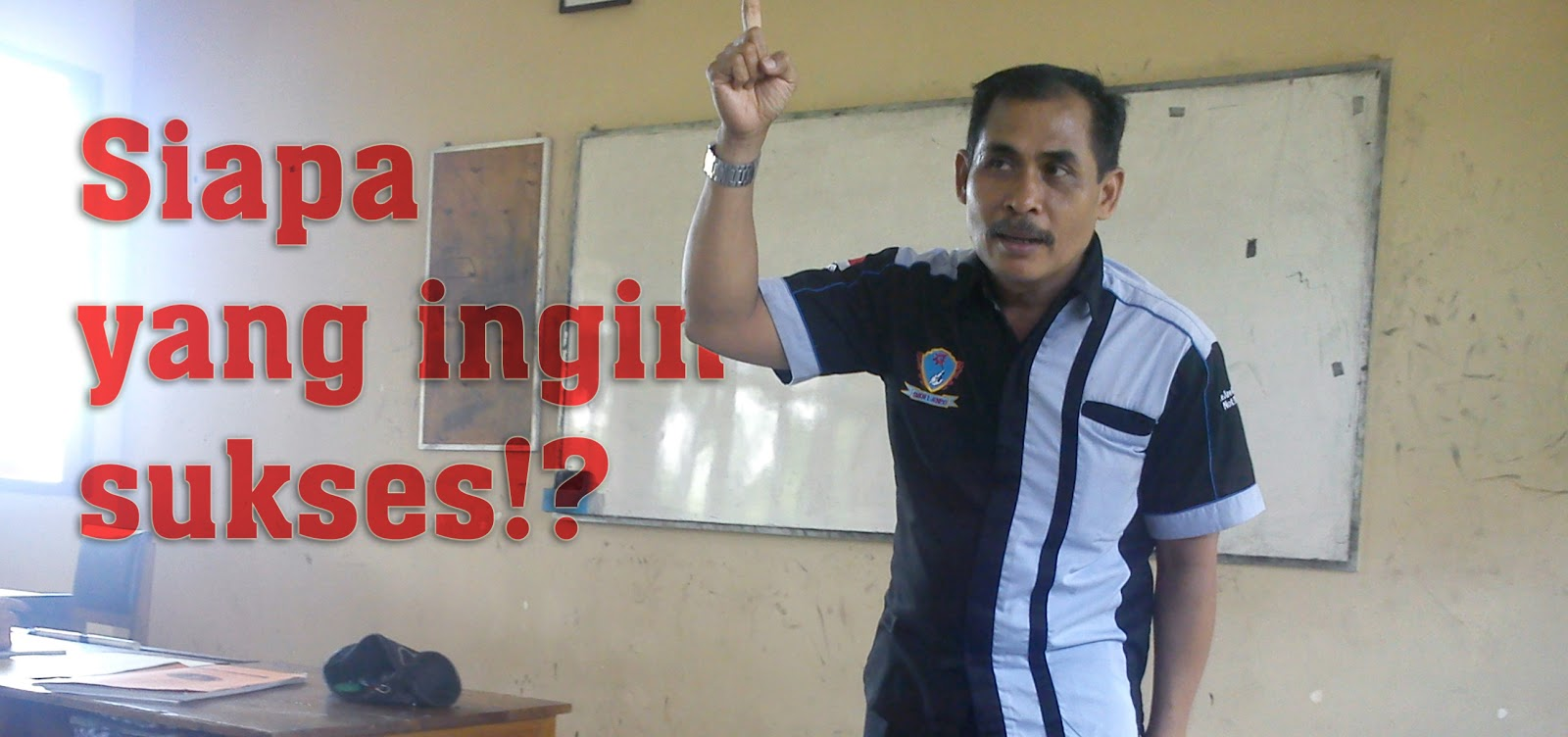Kunto Wiyono, Siapa Yang Ingin Sukses?, Motivator, Motivasi, SMK N 1 Jenangan, Ponorogo