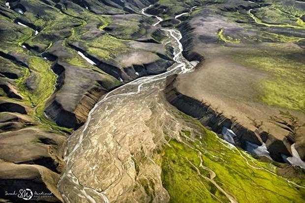Aerial Photos of Iceland by Sarah Martin