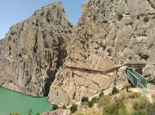 Caminito del rey,Torcal de Antequera, via ferrata