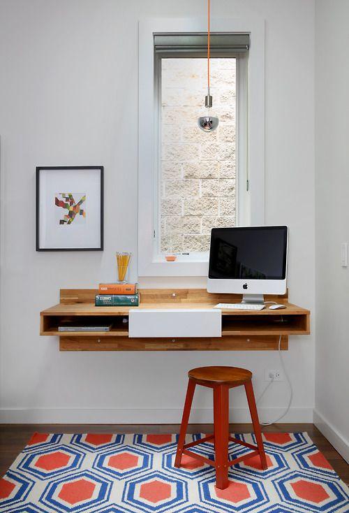 la fabrique d co un coin bureau la fen tre id es d 39 am nagement et de d co. Black Bedroom Furniture Sets. Home Design Ideas