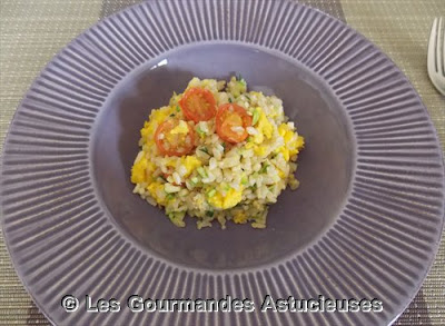 Recette au wok