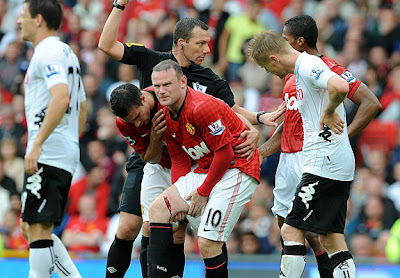 Wayne Rooney Injury 2012