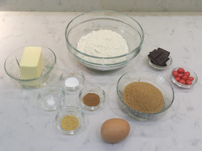 Ingredientes galletas de jengibre