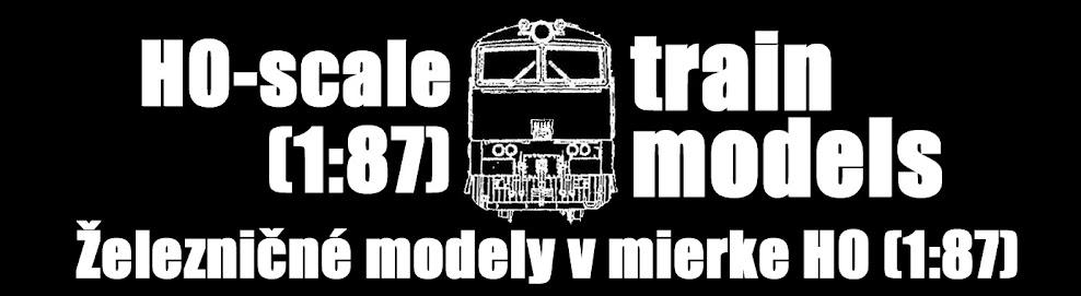 Železničné modely v mierke H0 (1:87)