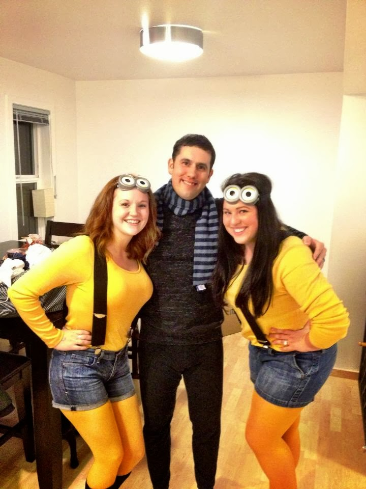 Isnu0027t D such a good sport?! Heu0027s our GRU!  sc 1 st  Life Laughs and Ladds : minion costume for halloween  - Germanpascual.Com