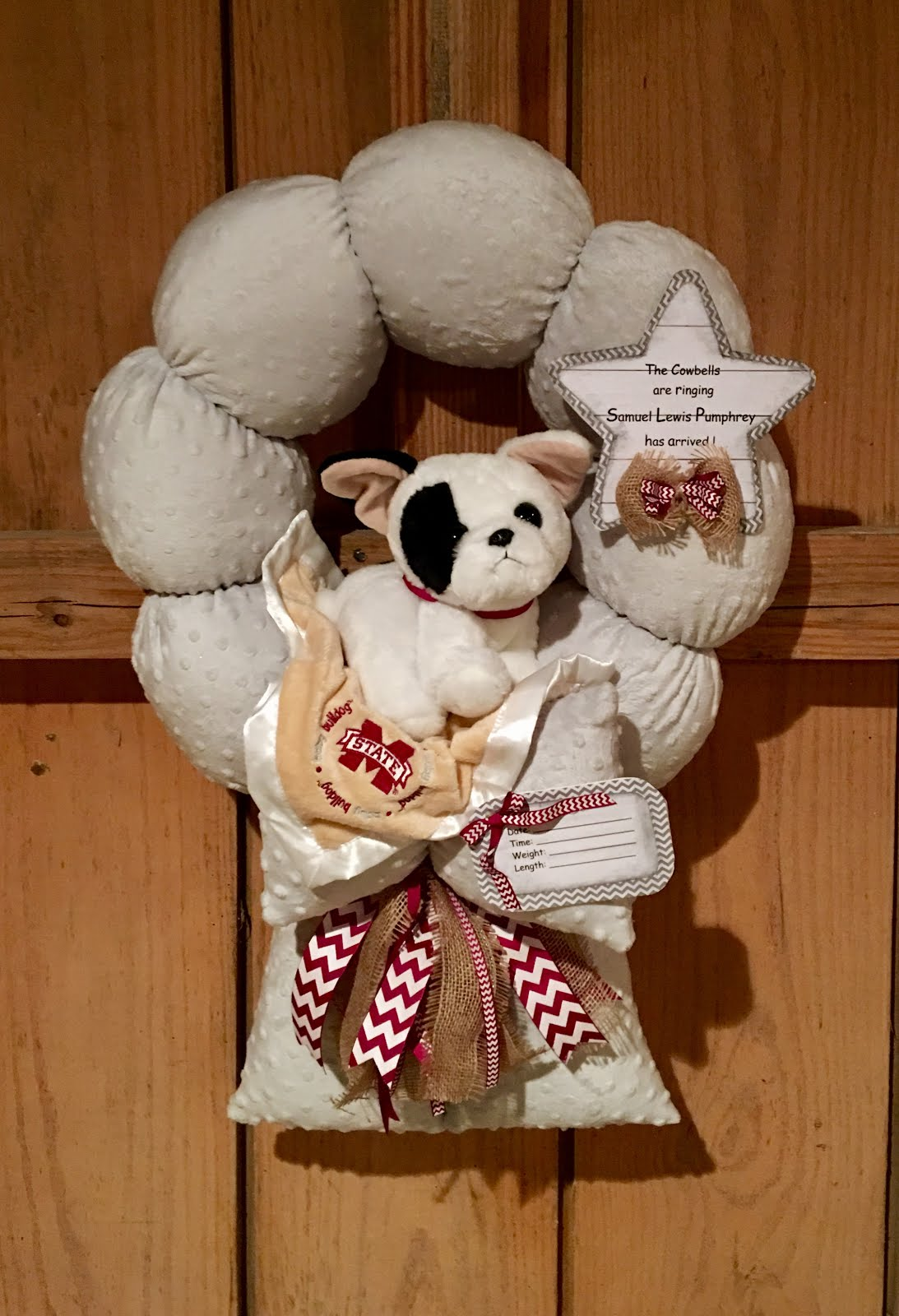 115.  MSU baby wreath