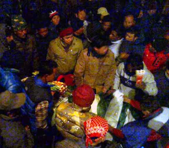 Mortal remains of Subash Ghisingh reaches Darjeeling