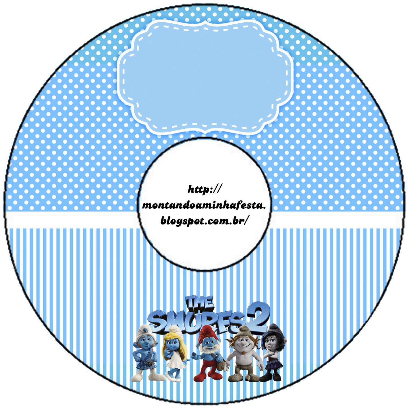 Smurfs: Free Printable Candy Bar Labels for Boys Party. | Is it for PARTIES? Is it FREE? Is it ...