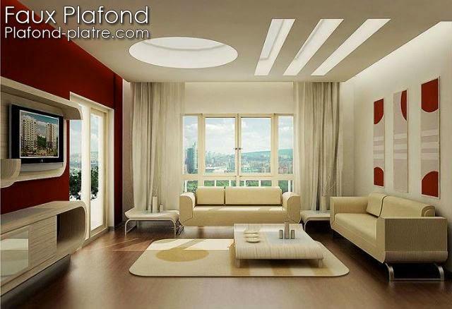 Idée Conception Faux plafond moderne