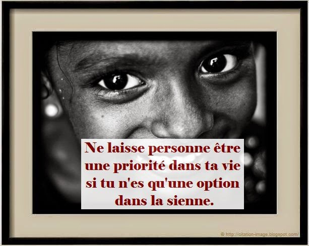 Citation pour photo de profil en image