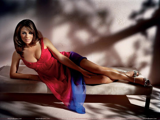 Elizabeth Hurley HD Wallpaper