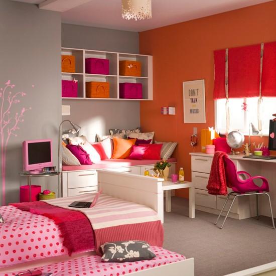 Teenage Girls Bedroom Decorating Ideas