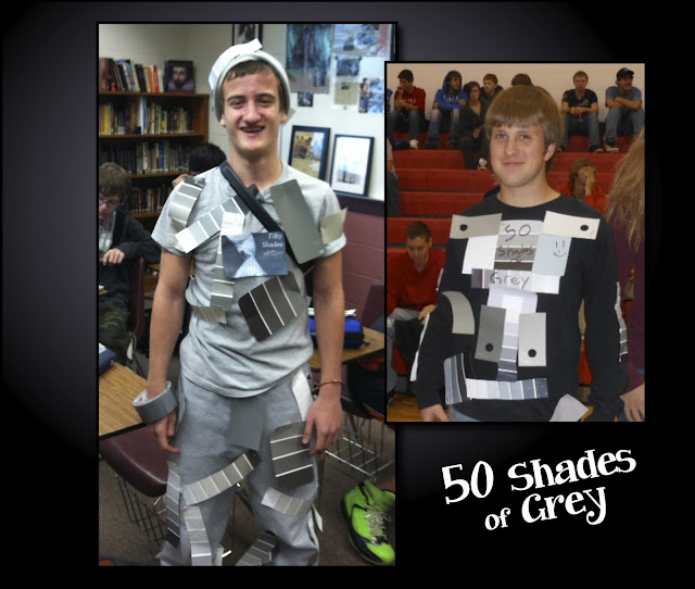 50 Shades of Grey Costumes - Halloween