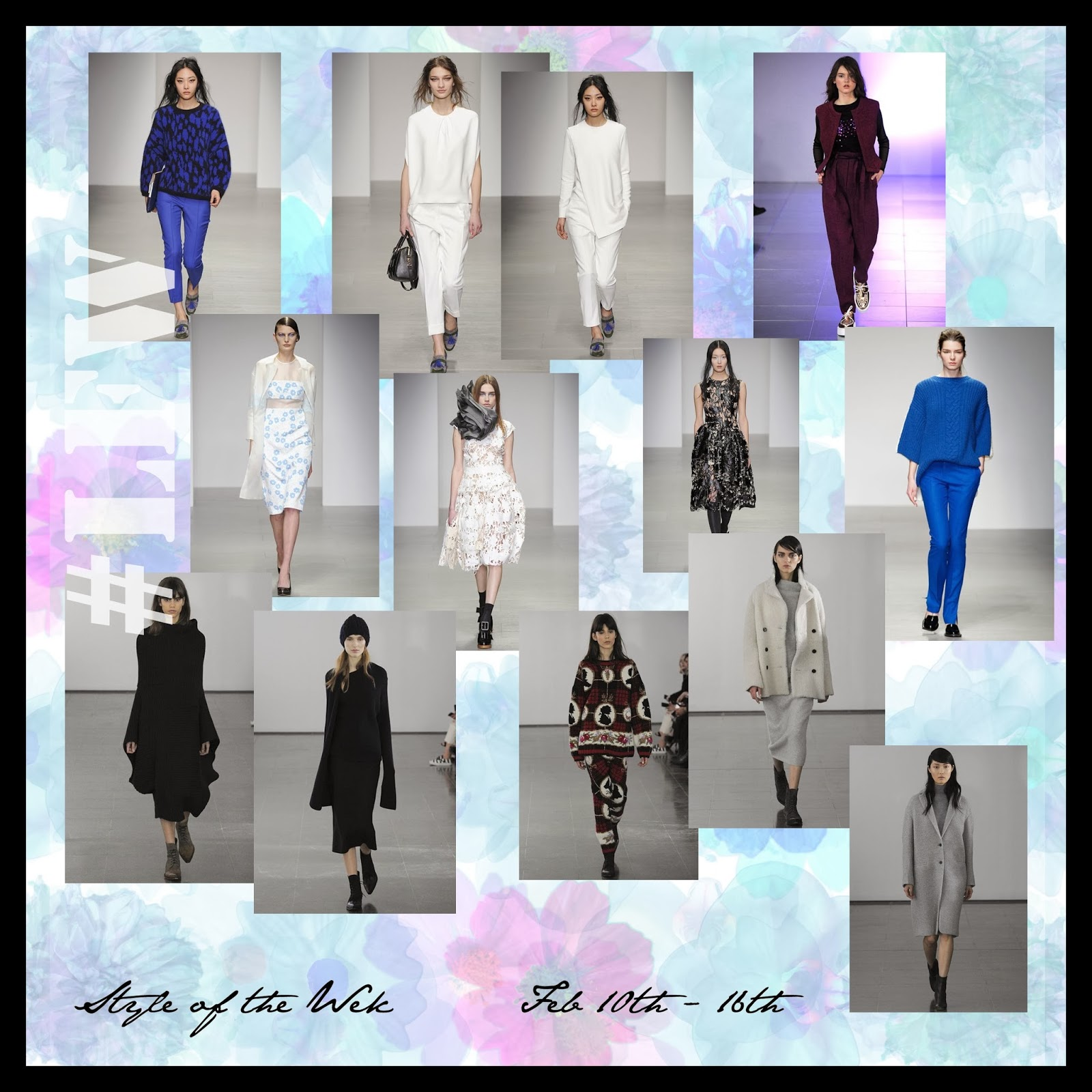 STYLE OF THE WEEK : LFW (SO FAR)