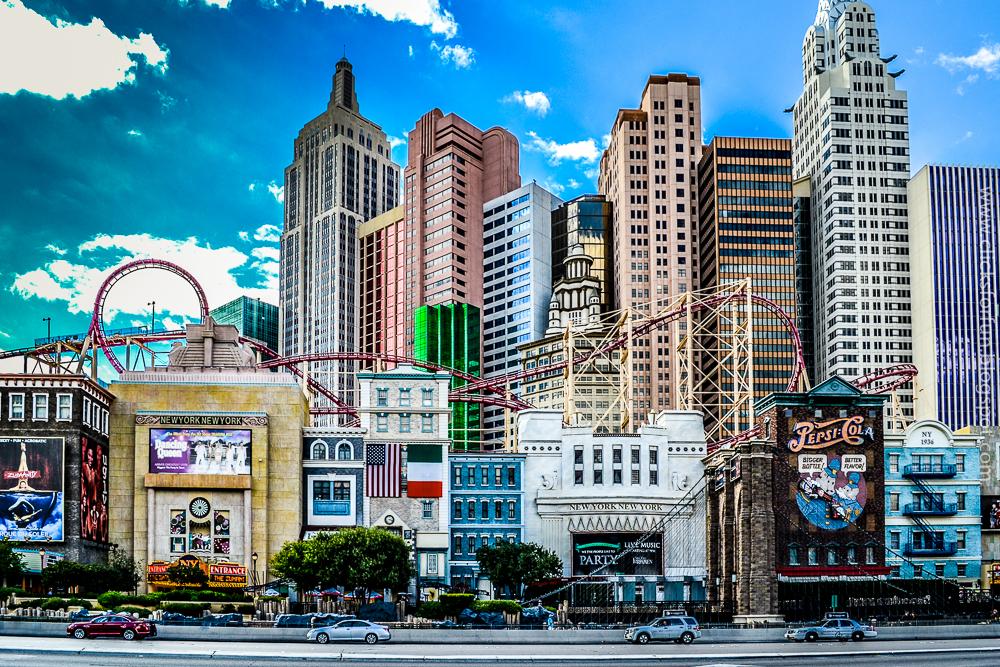 Newyork Newyork Hotel Casino Las Vegas HDR Photoblog