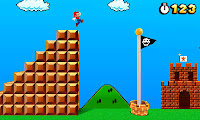 NES reference in Super Mario 3D Land