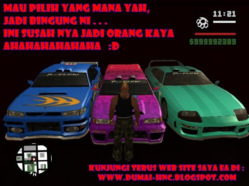 Cheat gta san andreas ps2 bahasa indonesia mobil keren