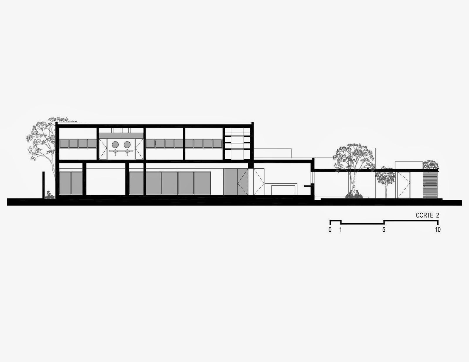 Apuntes revista digital de arquitectura proyecto for Cortes arquitectonicos