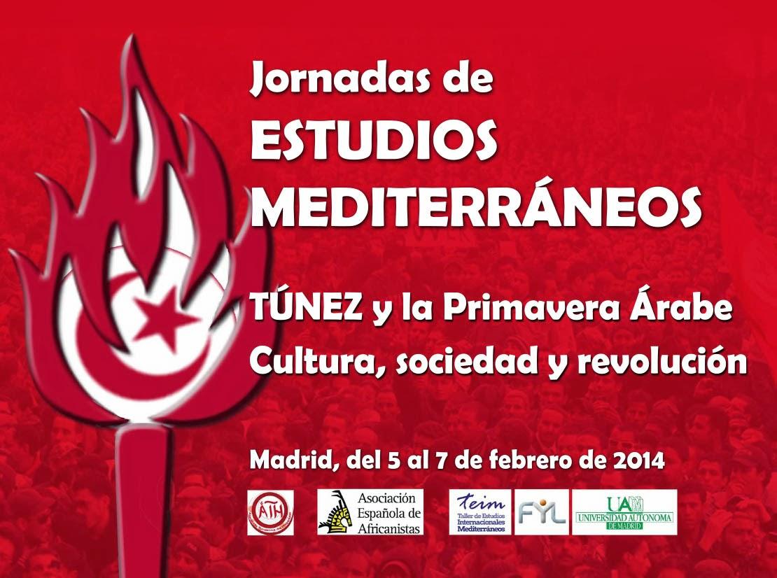 Jornadas de Estudios Mediterraneos. TUNEZ y la Primavera Arabe UAM