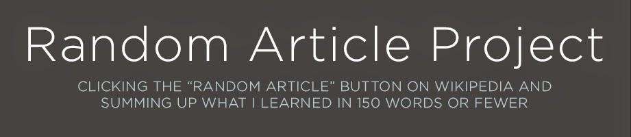 Random Article Project