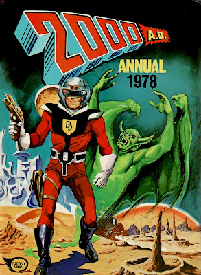 2000AD Annual, 1978, Dan Dare cover