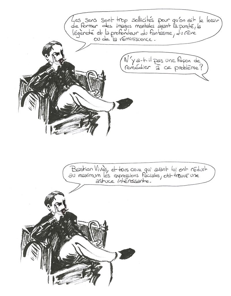 Marcel Proust sur Bastien Vivès