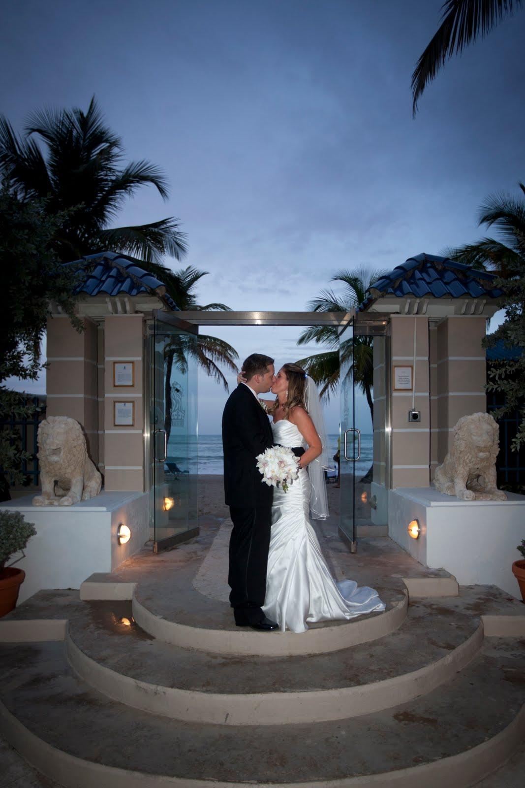 Beach Wedding At Caracoles Area The Ritz Carlton Hotel San Juan Puerto Rico Weddings By Anne Marie Kleis