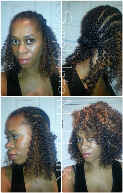 Crochet Hair Process : Crochet Braids #7 Simply Into My HAIR