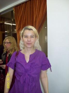 Olivia Marcov anul IV Simpozion Criminalistica