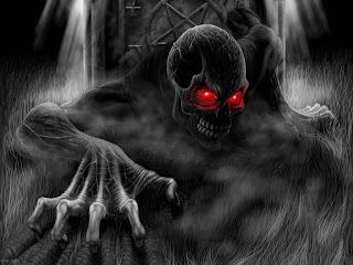 Devil Is Alive Dark Gothic Wallpaper