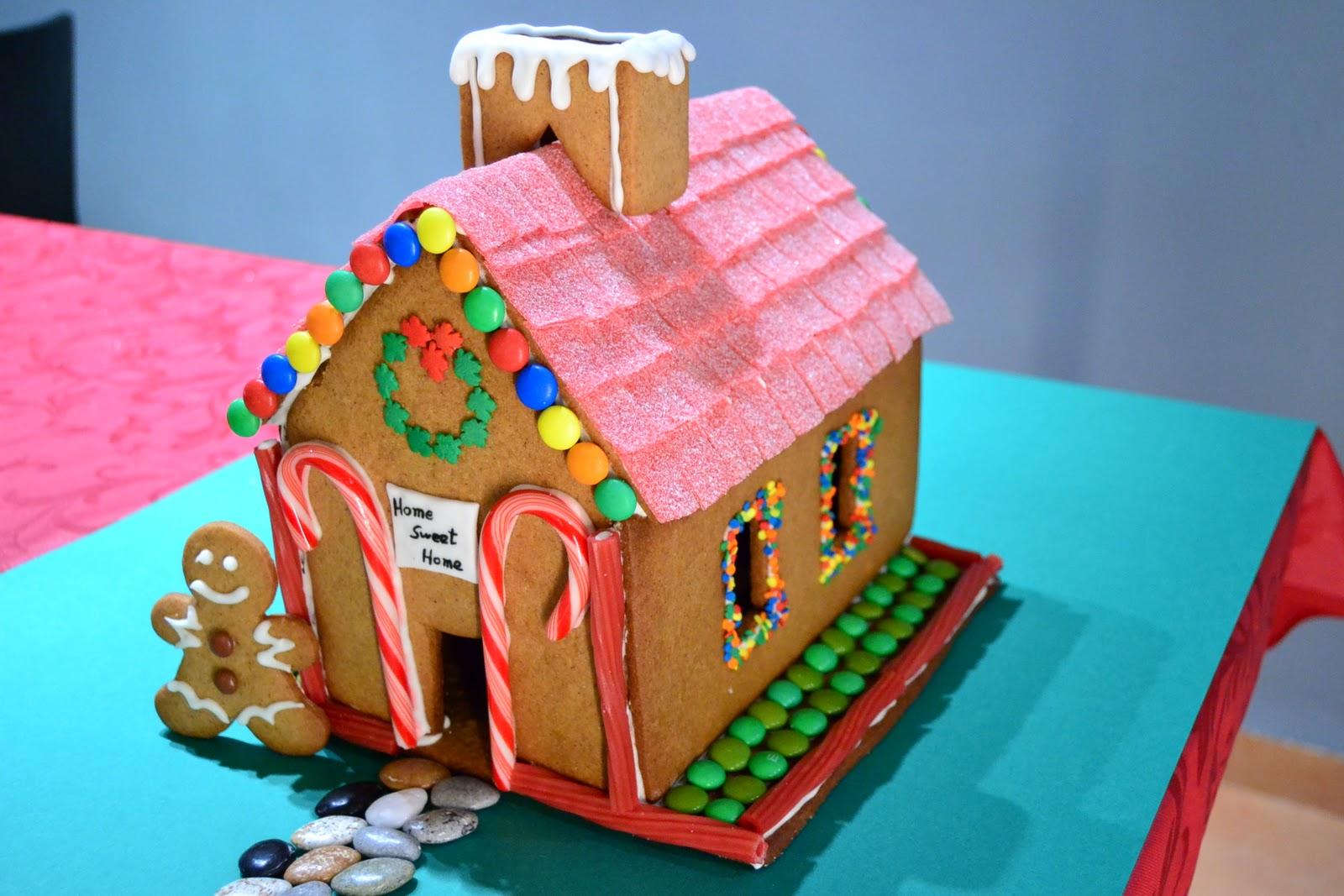 La chica de la casa de caramelo casita de jengibre for Casa jengibre