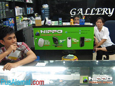 Alamat Service Center Produk Hippo Power Bank di Indonesia